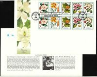 1998 Flowering Trees Sc 3197a FIRST DAY COVER Fleetwood