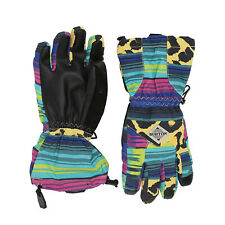 BURTON Youth Kids 2020 Snowboard Snow Profile Gloves Leopardy Cat