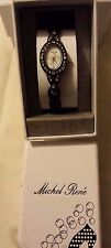 WOMENS / LADIES BLACK BRACELET WATCH ~ 24.99P NO RESERVE ~ UNWANTED