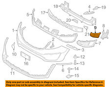 KIA OEM 14-16 Sportage Front Bumper-Outer Grille Lower Support Left 865873W500