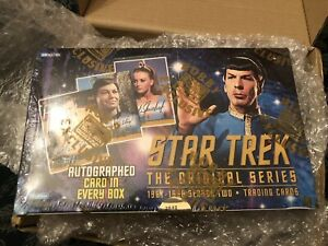 Fleer Skybox Star Trek TOS The Original Series Season 2 Box Sealed (Autograph)
