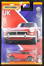 Matchbox 2021- Best of UK - 1971 MGB GT Coupe 9/12