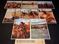 LE CONVOI SAUVAGE r harris jeu 16 photos cinema lobby cards western indiens 1971