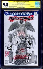 DC Comic HARLEY QUINN #16 CGC SS 9.8 X3 CHO CONNER PALMIOTTI BATMAN JOKER GOTHAM