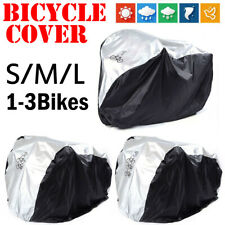 Single/Double/Triple Bicycle Cover In/Outdoor Rust Prevention Waterproof Dust