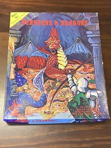1979-80 D&D DUNGEONS & DRAGONS Boxed Set - Blue Book - Module B2 & Chits