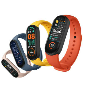 New M6 Smart Band Color Screen Fitness Tracker Blood Pressure Heart Rate Monitor