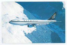 Olympic Airways Postcard - Vintage 1970s Airbus A300 Jet Airplane Air Lines Card