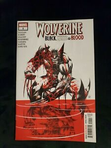 WOLVERINE BLACK WHITE AND BLOOD #1 FIRST PRINTING