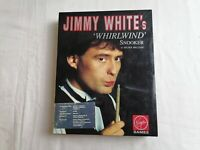 """Jimmy White's """"WHIRLWIND"""" Snooker By Archer Maclean Atari ST Game By Virgin."""