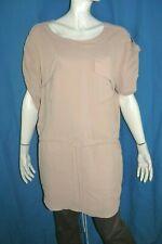 AMERICAN RETRO Taille 40 Superbe robe tunique manches courtes ton chair tunic