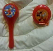 GUC DISNEY CHILDREN'S INSTRUMENTS MINEY MOUSE DONALD DAISY DUCK MARACCA CASTINET