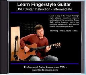 Learn Fingerstyle Guitar Lessons great for parlor guitars - Alvarez AP66SHB etc