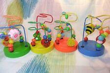 Kaper Kidz Children Wooden Bead Rollercoaster/Maze Children's Toy! Coordination!
