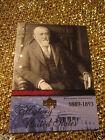 Benjamin Harrison 1889 US United States President Upper Deck Card