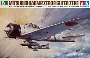 Tamiya 1/48 Mitsubishi A6M2 Zero Fighter Zeke