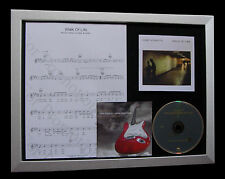 DIRE STRAITS Walk Of Life GALLERY QUALITY LTD CD FRAMED DISPLAY+FAST GLOBAL SHIP
