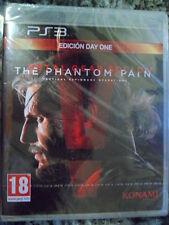 Metal Gear Solid V The Phantom Pain Edición Day One PS3 Nuevo Precintado PAL Esp