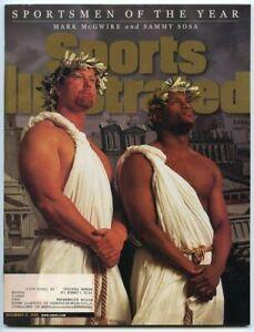 SI: Sports Illustrated December 21, 1998 Mark McGwire, Sammy Sosa, VERY GOOD
