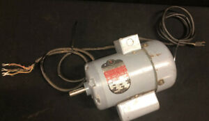 VTG Delta Rockwell Tilting Arbor Saw 34-400 Motor 1PH 115/230V 1HP
