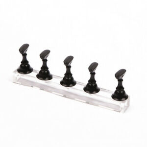 Nail Display Stand Tip Magnetic Holder Practice DIY Manicure Art Training  Tool
