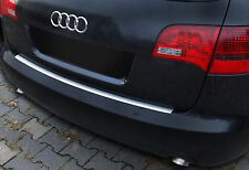 Edelstahl Ladekantenschutz mit Abkantung für Audi A6 C6 4F Avant 2005-2011