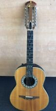 Ovation Guitar 1615 Acoustic/Electric 12 String by Kaman Music With Case