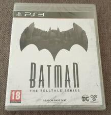 Sony Playstation 3 PS3 Game Batman The Telltale Series Season Pass Disc New