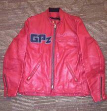 Vanson Leathers Custom Motorcycle Jacket. Size 42.  GPz logo