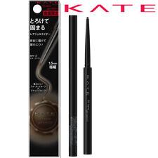 [KANEBO KATE] Fit Rare Gel Ultra Fine Eyeliner Pencil BR-2 BROWN BLACK NEW