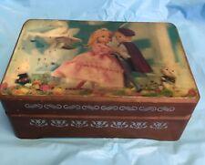 """Vintage 3D Lenticular Stereo TOPPAN Music Box """"Little Dancer"""" Lara's Theme"""