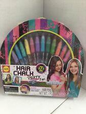 NEW Hair Chalk Party 2 Go Kit  ALEX Spa 74 Pieces ~ 12 PENS & Hair  Beads & Tool