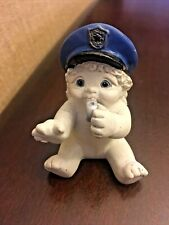 """Vintage 2000 Dreamsicles """"All Star Police"""" 11083 Angel Figuring w/ Hat & Whistle"""