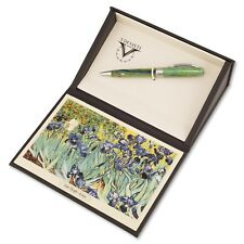 VISCONTI VAN GOGH IMPRESSIONIST 2018 IRISES GREEN BALLPOINT PEN LIMITED EDITION