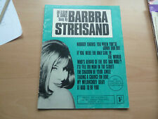 An Album of Songs sung by Barbara Streisand