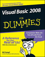 Visual Basic 2008 For Dummies by Bill Sempf (Paperback, 2008)