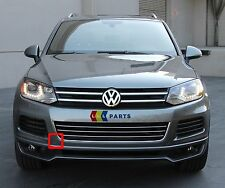VW TOUAREG 10-14 NEW GENUINE FRONT BUMPER O/S RIGHT TOW HOOK COVER CAP 7P6807186