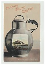 Jersey postcard - Ye Olde Jersey Milk Can (Mt. Orgueil Castle) - Novelty
