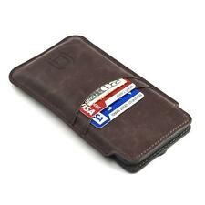 Apple iPhone XS 5.8 Premium Leather Cover 2 Card Slot Holder Case Slim Pouch
