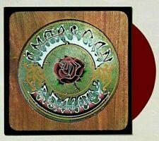 Grateful Dead American Beauty Vinyl 50th Anniversary Crimson Rose Red Lp New