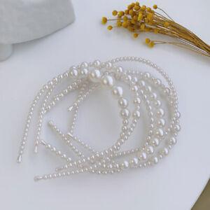 Imitation Pearl Hair Band  Hair Accessories Head band Wedding Party Hair Hoop