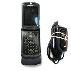 Cingular Flip Cell Phone Motorola MotoRazr Maroon V3R Razor V3 NOT WORKING