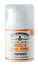 Scottish FINE SOAPS para Hombres Aseo Cardo y Negro-Pimienta Crema Hidratante 50 Ml