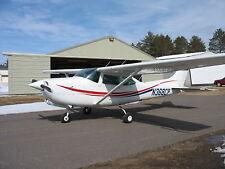 airplane single engine 1980 Cessna R182RG