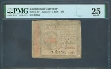Continental Currency 1779, $50 PMG Very Fine 25