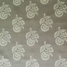 P KAUFMANN ADRIAN GRAY FLORAL COTTON UPHOLSTERY FABRIC BTY $8.95/YD 150FS