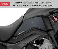 Protezioni laterali nere per serbatoio e carena HONDA AFRICA TWIN CRF 1000 L