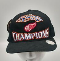 VTG NWT 1997 Stanley Cup Champions Detroit Redwings Snapback Hat Logo 7 NHL