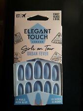 ELEGANT TOUCH False Nails - Girls On Tour Urban Fever Almond -24 Nails 10 Sizes