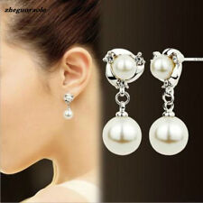 2.5cm drop earrings Comfy stud cream/ivory Pearl